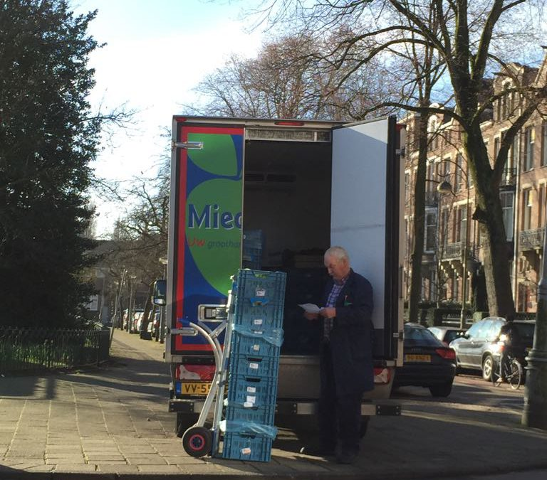 BlueSeal air curtain in Amsterdam in Miedema vehicle