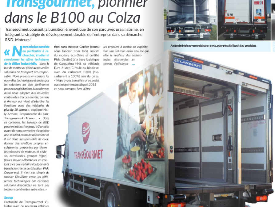 BlueSeal air curtain in Froid News / Rideau d'air BlueSeal en Froid News