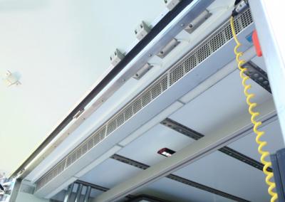 Rideau d' air pour camions frigorifiques