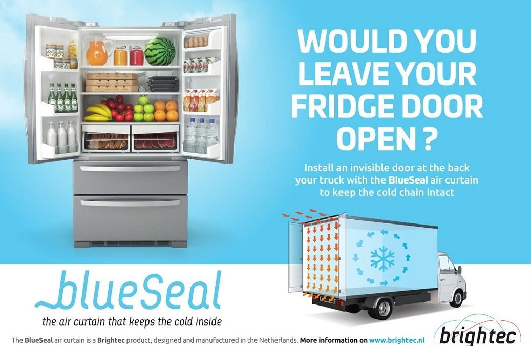 Would you leave your fridge door open? Our new advertisement, shown in FroidNews (France) and TS&D Magazine (UK)