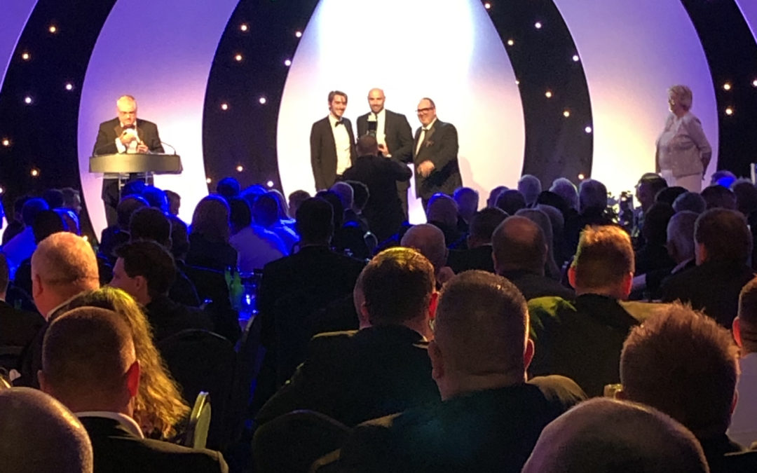 Brightec present Solomon Commercials with Refrigerated Rigid of the Year at TCS&D Awards 2019