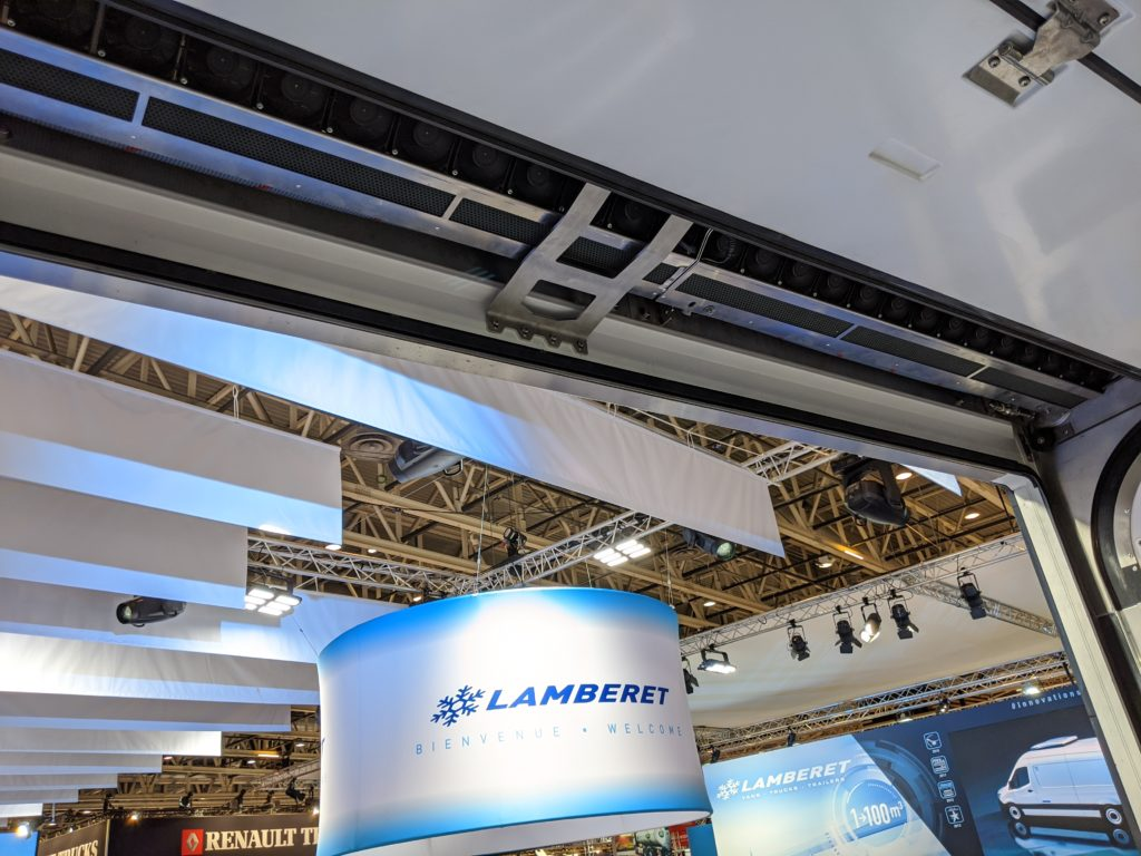 lamberet solutrans air curtain